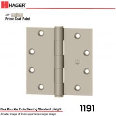 Hager 1191 4.5 x 4.5 USP Full Mortise Hinge Stock No 006617