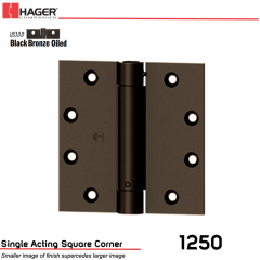 Hager 1250 4 x 4 US10D Full Mortise Hinge Stock No 053904