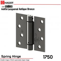 Hager 1750 US10R Full Mortise Hinge Stock No 170020