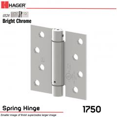 Hager 1750 US26 Full Mortise Hinge Stock No 170023