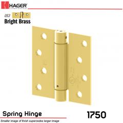 Hager 1750 US3 Full Mortise Hinge Stock No 170035