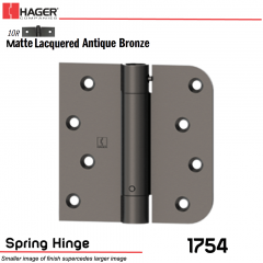 Hager 1754 US10R Full Mortise Hinge Stock No 170481