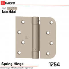 Hager 1754 US15 Full Mortise Hinge Stock No 170482