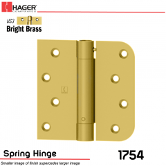 Hager 1754 US3 Full Mortise Hinge Stock No 170487