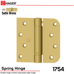 Hager 1754 US4 Full Mortise Hinge Stock No 170489