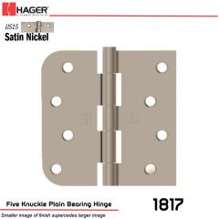 Hager 1817 US15 Full Mortise Hinge Stock No 070459