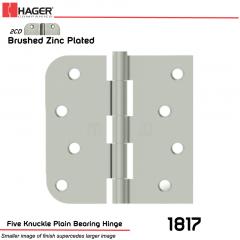 Hager 1817 US2CD Full Mortise Hinge Stock No 065029