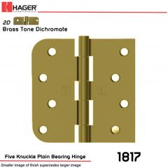Hager 1817 US2D Full Mortise Hinge Stock No 070403
