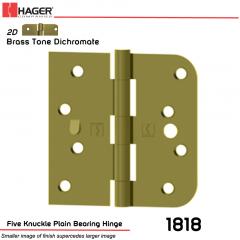 Hager 1818 US2D Full Mortise Hinge Stock No 070619