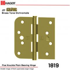 Hager 1819 US2D Full Mortise Hinge Stock No 070835