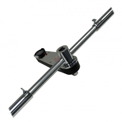 T Style Dial Torque Wrench-Single Scale-Foot Pound-1 in. Drive Tang-Torque Range 0-2000 ft-lb-CDI 20005LDFESS