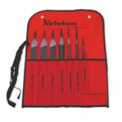 Nicholson 22024NN, Nicholson File #22024NN 7pc Machinist File Set