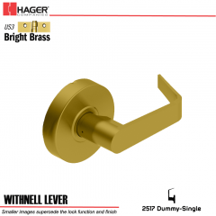 Hager 2517 Withnell Lever US3 Door Lock Stock No 130790