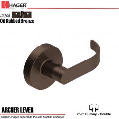 Hager 2527 Archer Lever US10B Door Lock Stock No 131576