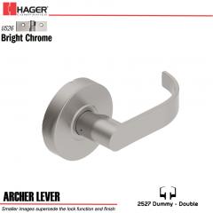 Hager 2527 Archer Lever US26 Door Lock Stock No 177629