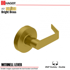 Hager 2527 Withnell Lever US3 Door Lock Stock No 131693