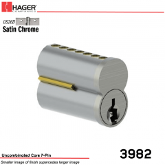 3982 SFIC US26D Best A Keyway Uncombinated Core 7-Pin Stock No 067534