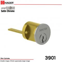 3901 Rim Cylinder US26D 6Pcyl SCC KD Stock No 097955