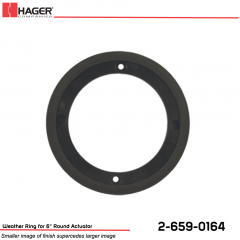 Hager Weather Ring for 6 in. Round Actuator Stock No 162701