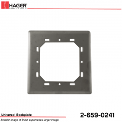 Hager Bollard to Round/Square Actuator Mounting Plate Stock No 162743