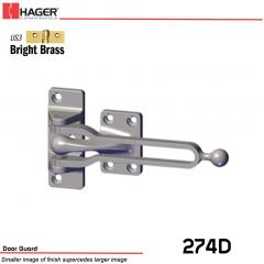 Hager 274D Door Guard US3 Stock No 043331