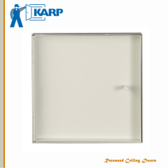 Customizable Karp Recessed Ceiling Doors Model KATR