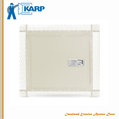 Customizable Karp Insulated Exterior Access Door Model MXPL For Plaster