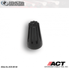 ACT AL-ACS-B1-M Black High Temperature Wire Connector 10000 Pcs/Case