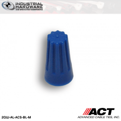 ACT AL-ACS-BL-M Blue Standard Wire Connector 10000 Pcs/Case
