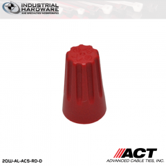 ACT AL-ACS-RD-D Red Standard Wire Connector 5000 Pcs/Case