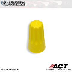 ACT AL-ACS-YW-C Yellow Standard Wire Connector 1000 Pcs/Case