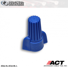ACT AL-ACW-BL-L Blue Wing Wire Connector 500 Pcs/Case