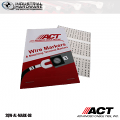 ACT AL-MARK-08 Wire Marker Booklet Numbers 46-90