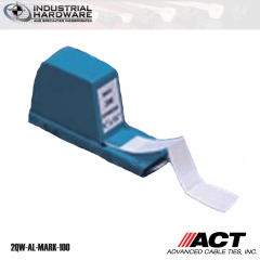 ACT AL-MARK-100 Write On Wire Markers and Dispenser