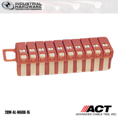 ACT AL-MARK-15 Wire Marker Mini Dispenser Numbers 0-9