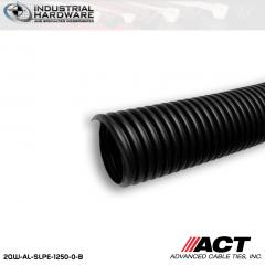 ACT AL-SLPE-1250-0-B 1-1/4 in. Polyethylene Split Loom 200 ft. Roll