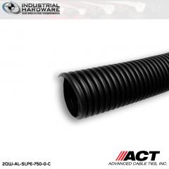 ACT AL-SLPE-750-0-C 3/4 in. Polyethylene Split Loom 100 ft. Roll