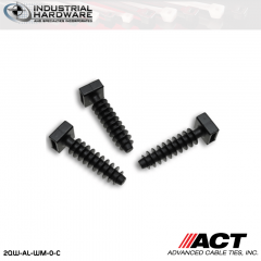 ACT AL-WM-0-C Nylon Wall Mount Black 1000 Pcs/Case