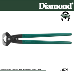 31-14DN, Diamond Catalog Number 14DN, Diamond Farrier 14DN 14 in. Economy Hoof Nippers