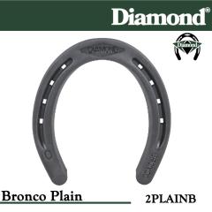 31-2PLAINB,Diamond Catalog number 2PLAINB, Bronco Plain size 2