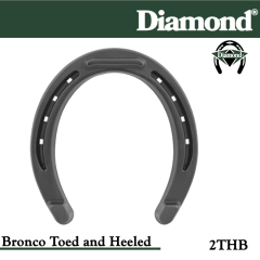 31-2THB,Diamond Catalog number 2THB, Bronco Toed & Heeled size 2