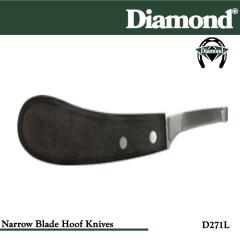 31-D271L, Diamond Catalog Number D271L, Diamond Farrier D271L Hoof Knife Narrow Left