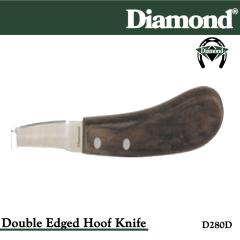 31-D280D, Diamond Catalog Number D280D, Diamond Farrier D280D Hoof Knife Double Edge