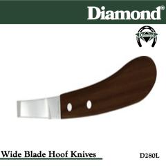 31-D280L, Diamond Catalog Number D280L, Diamond Farrier D280L Hoof Knife Wide Left