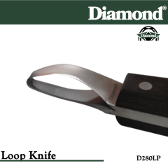 31-D280LP, Diamond Catalog Number D280LP, Diamond Farrier D280LP Hoof Knife Loop