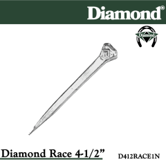 31-D412RACE1N, Diamond 4-1/2 Race nails, Diamond product code D412RACE1N