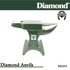 31-DAA55, Diamond Catalog Number DAA55, Diamond Farrier DAA55 Anvil Aluminum Base - 55lbs (25kgs)