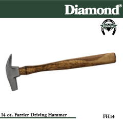 31-FH14, Diamond Catalog Number FH14, Diamond Farrier FH14 14 oz. Farrier Driving Hammer