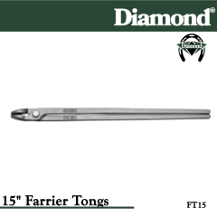 31-FT15, Diamond Catalog Number FT15, Diamond Farrier FT15 15 in. Farrier Tongs