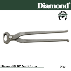 31-N10, Diamond Catalog Number N10, Diamond Farrier N10 10 in. Nail Cutting Nippers